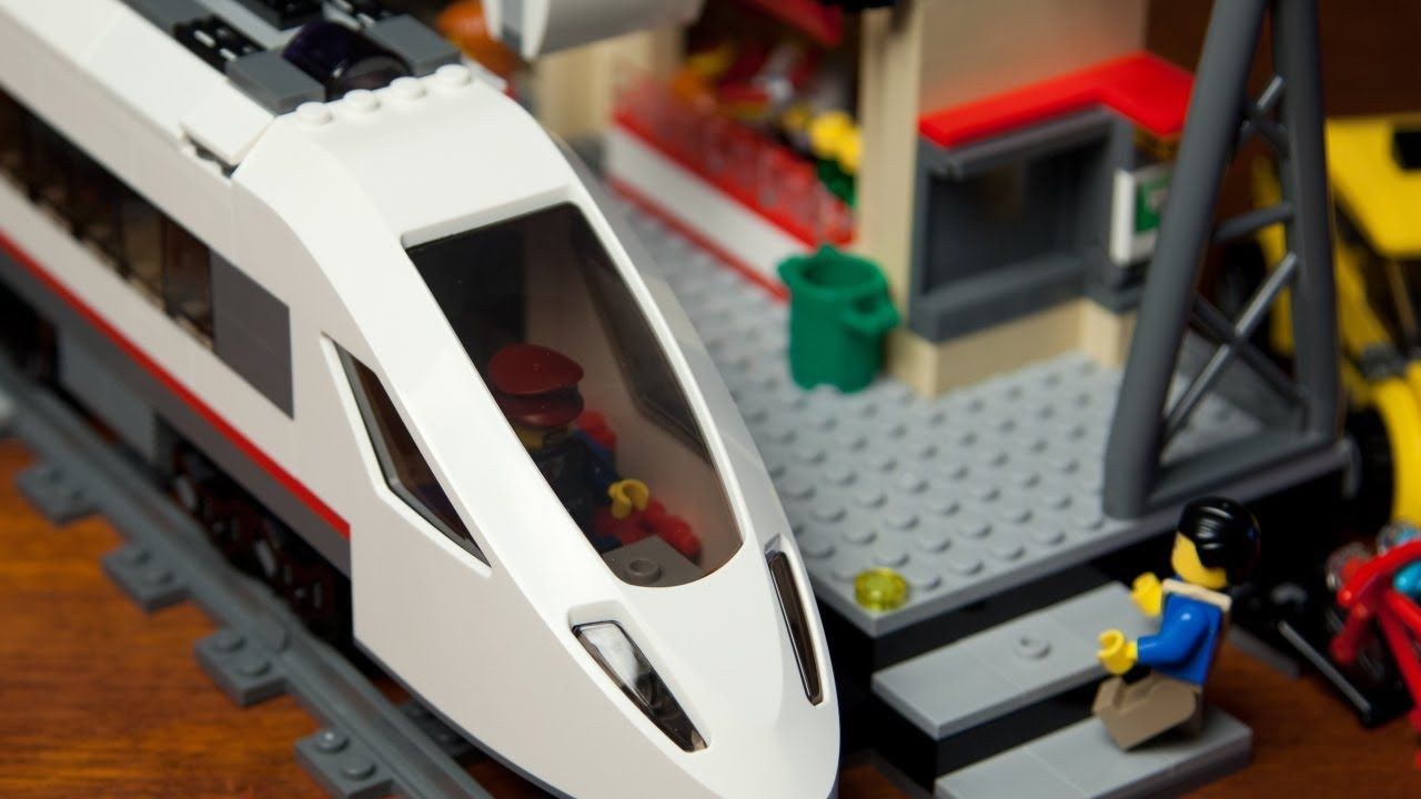 Lego High Speed Passenger Train 60051 With Train Station Luis Canastas