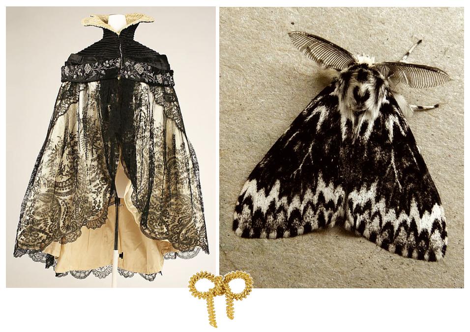 Sheer Wrap - Moth Print by VIDA VIDA zWNgsd