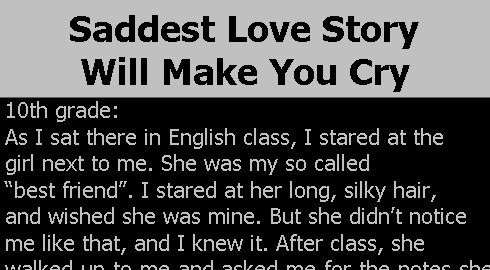 Pin On Sad Stories