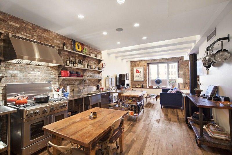 Live Like A Rock Star For 48K A Month In Strokes Guitarist Albert Extraordinary Manhattan Kitchen Design Model