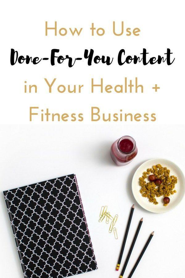 #BizLösungen #DoneforYouInhalten #Fitness #Fitnessgeschäft #Gesundheits #Ihrem #und #Verwendung #von...