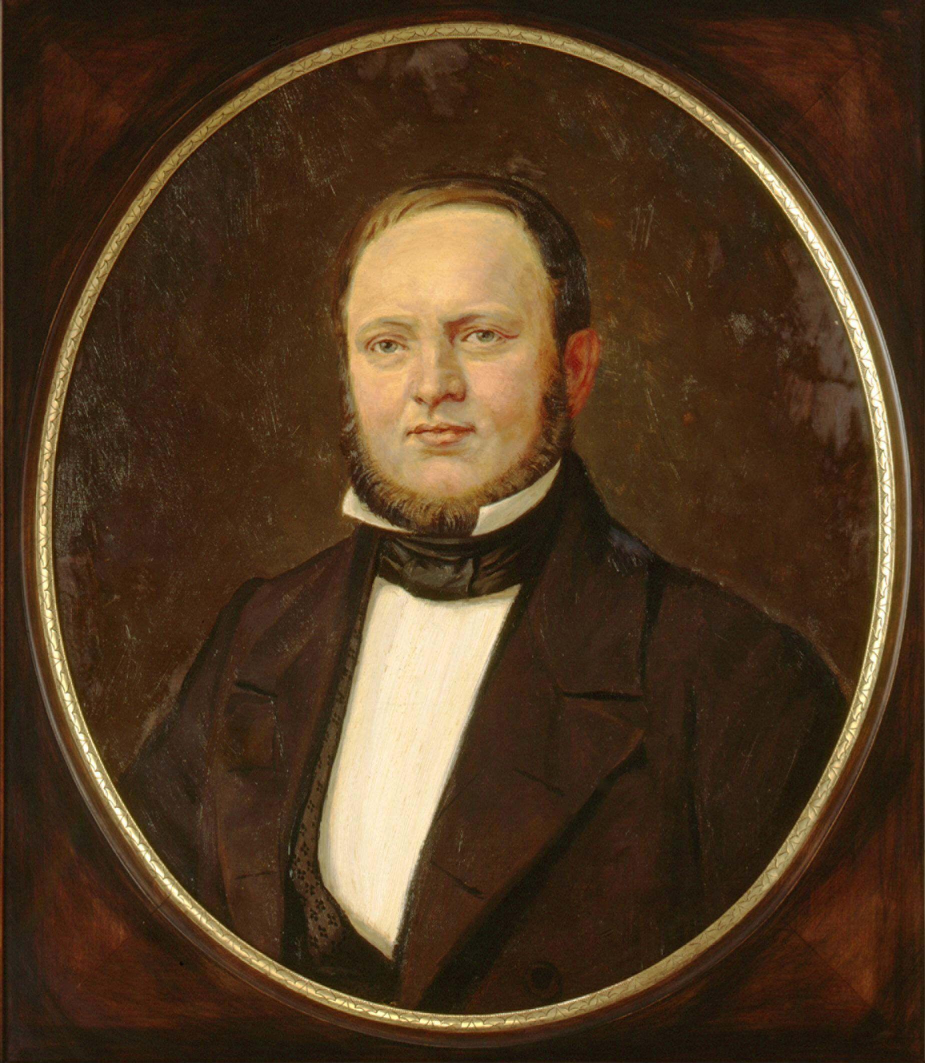 Bayer founder Friedrich Weskott (1821-1876).