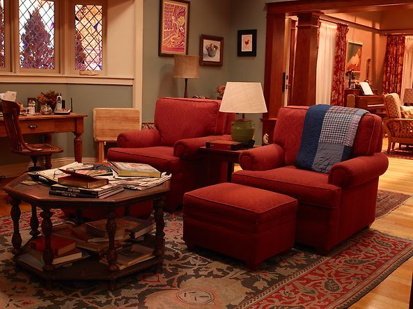 Zeek and Camille's sitting room   #Parenthood