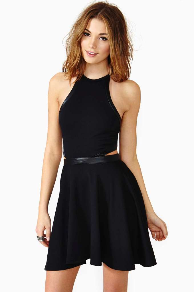 0c3860f47f3 Nasty Gal Wreckless Skater Dress - Back In Stock