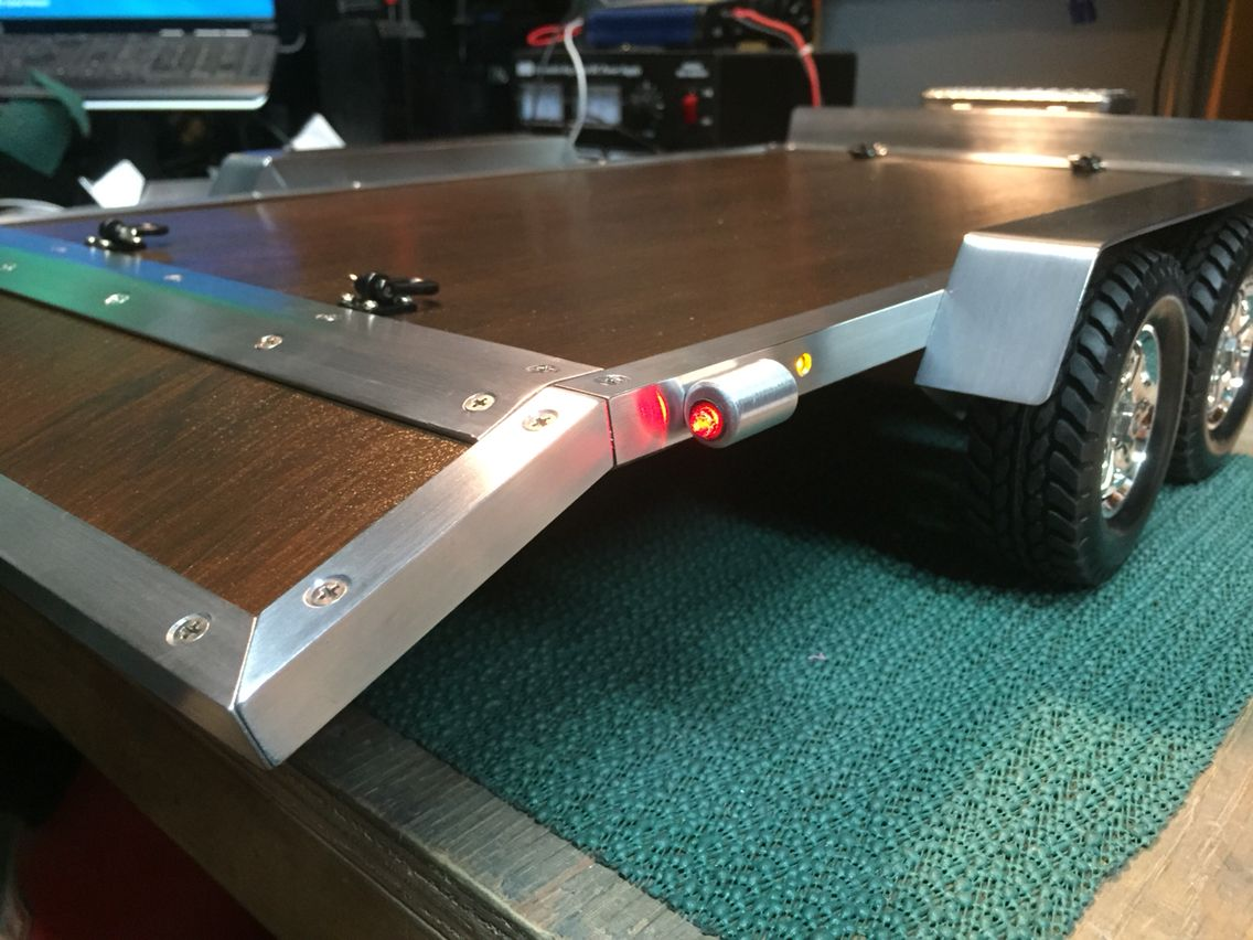 Custom built Dove tail trailer. | eXtreme RC Trailers ...