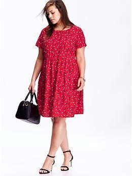 Women's Plus Patterned Dresses | Old Navy