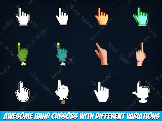Hand Cursor Icon Pack #Icon#Cursor#Hand#Icons | 3d Design Nails in