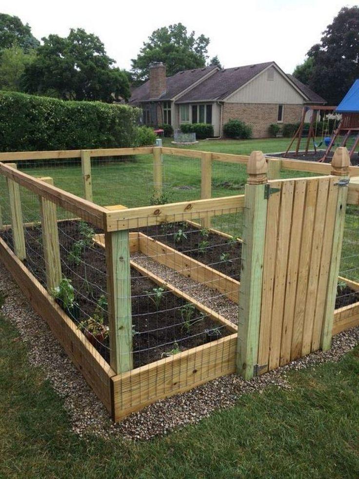 #bed #DIY #Enclosed #Garden #garden beds #raised #Enclosed ...