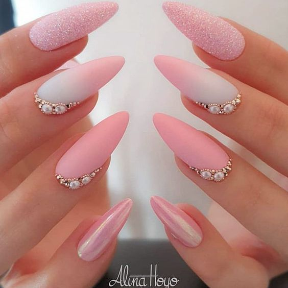 Photo of Beautiful nails from Ugly Duckling Family Member and Benelux Distributor @al… Bella #Nagel – Nagel