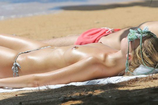 Sunbath pictures topless #1