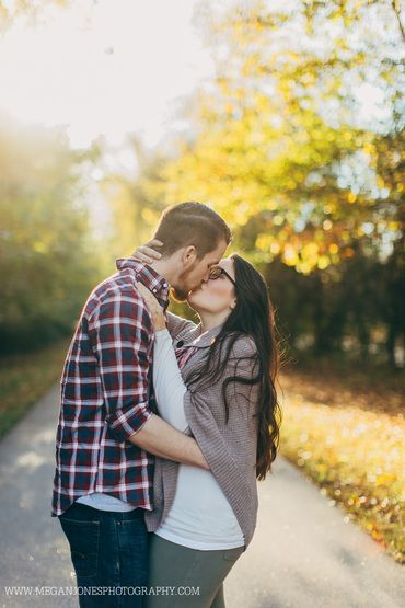 Fall Engagement // Megan Jones Photography // Smithfield, NC