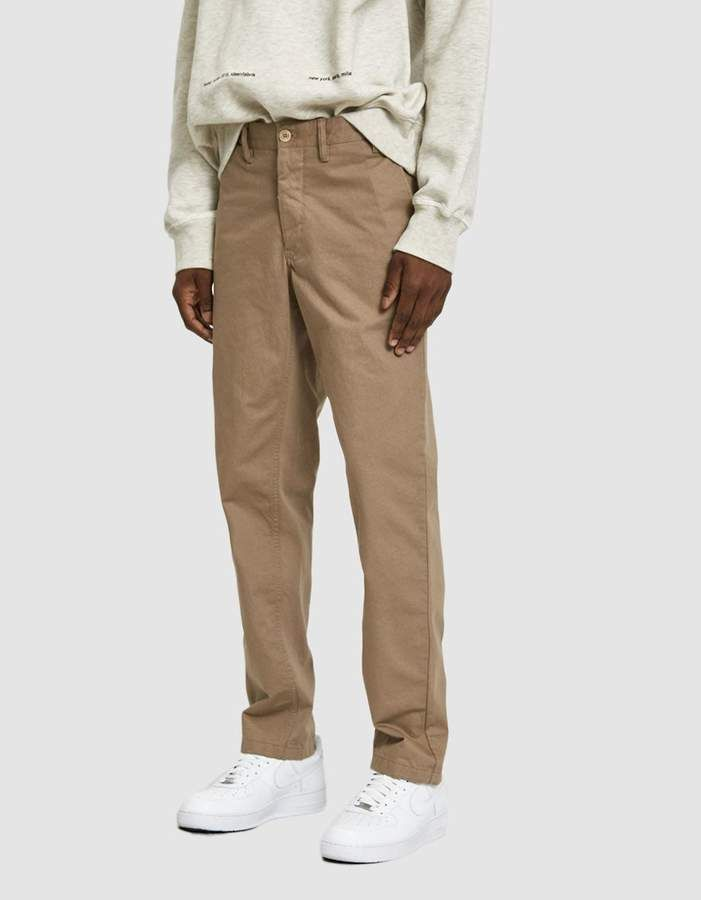 Norse Projects Aros Heavy Twill Chino Pant in Utility
