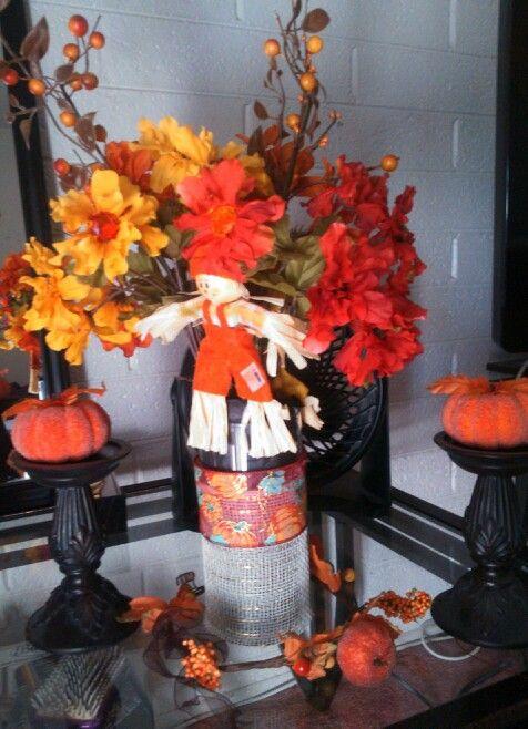 Easy Fall Centerpieces