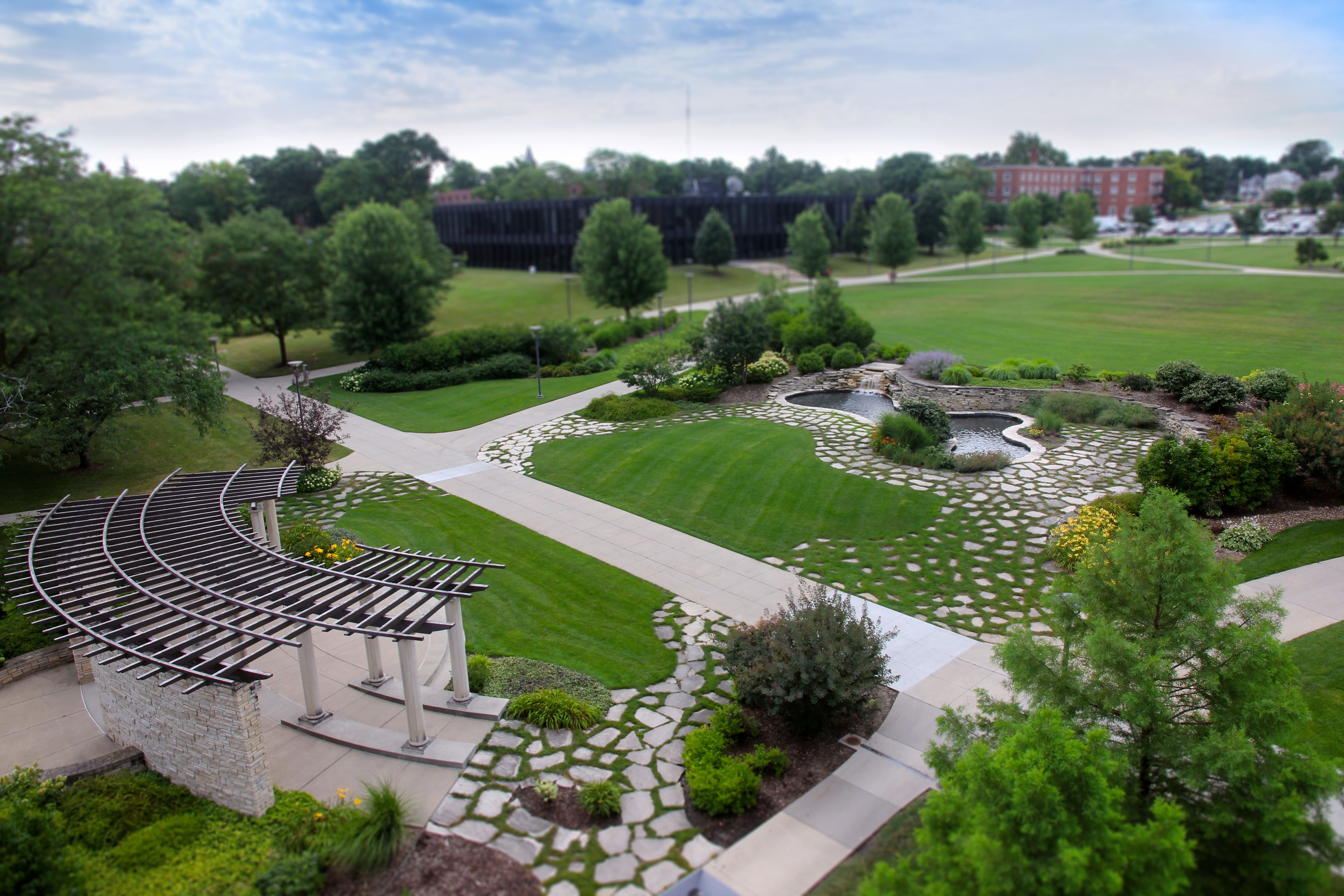 Helmick Commons is an open green space at the heart of ...