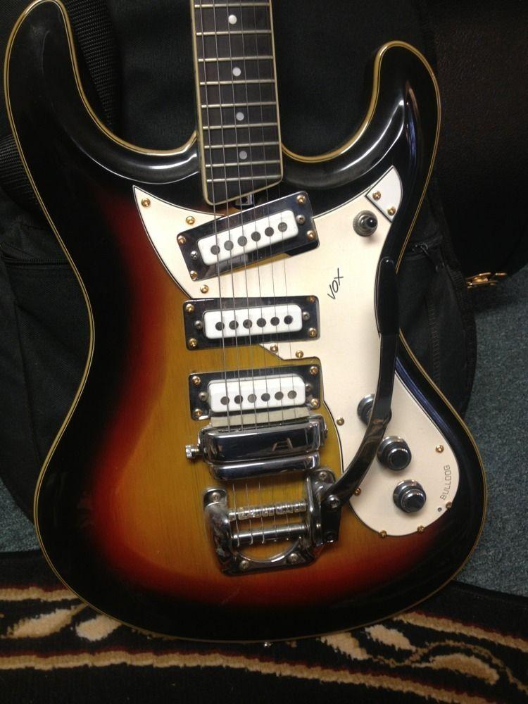 vintage vox bulldog electric guitar guitars guitar acoustic guitar music guitar. Black Bedroom Furniture Sets. Home Design Ideas