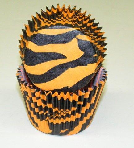 Tiger GP cupcake liners