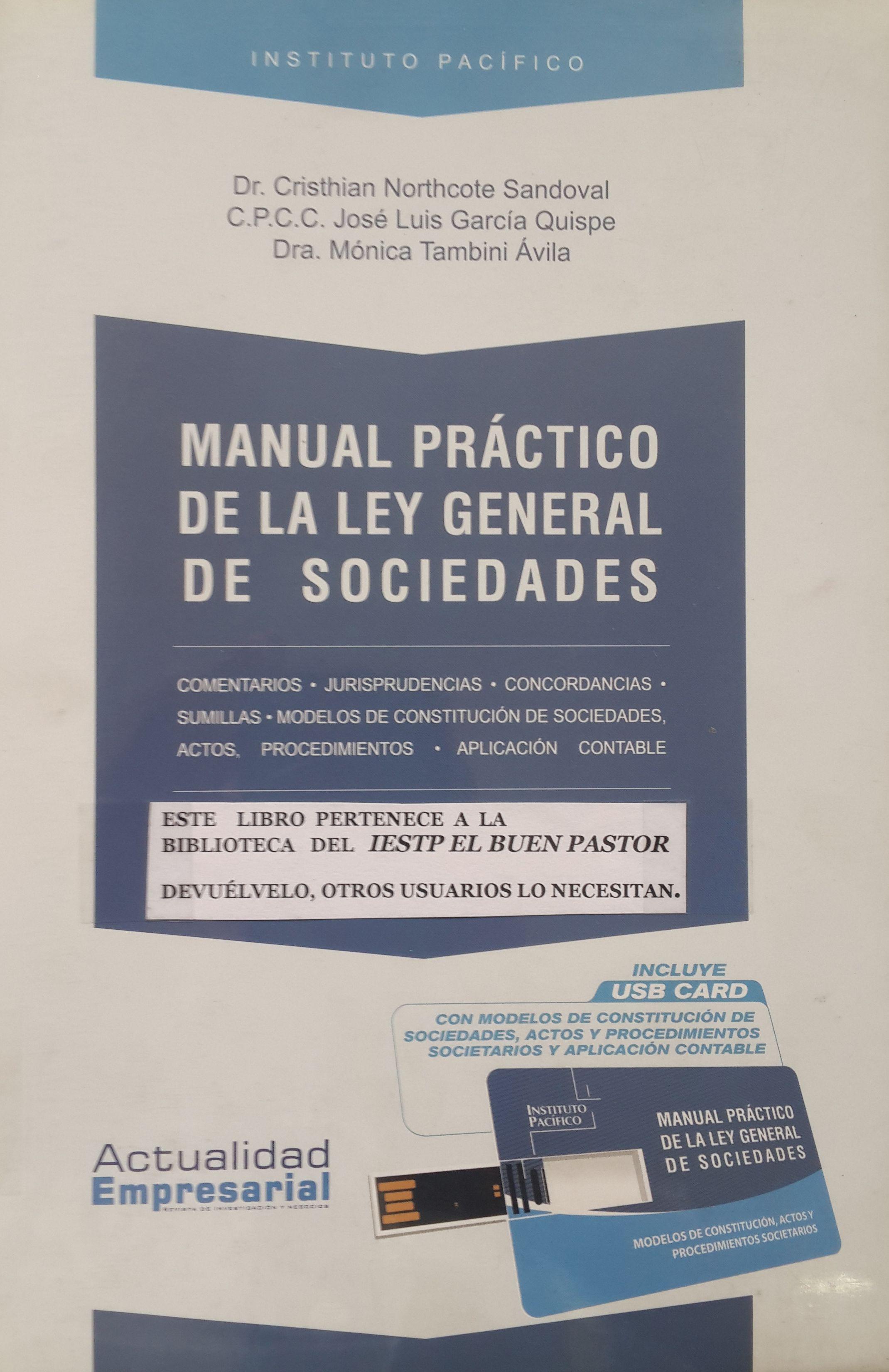 Título Manual Práctico De La Ley General De Sociedades Autor Northcote García Y Tambini Año 2012 Isbn 978 612 4118 28 9 Cards Against Humanity Cards