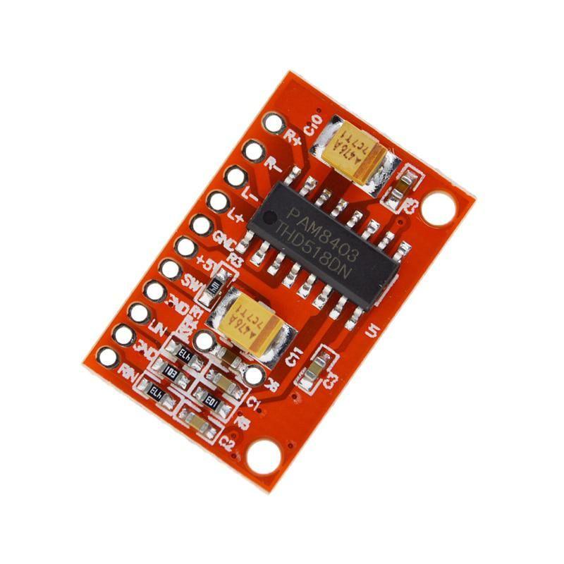 3W*2 Mini Digital Power Audio Amplifier Board DIY Stereo USB DC 5V