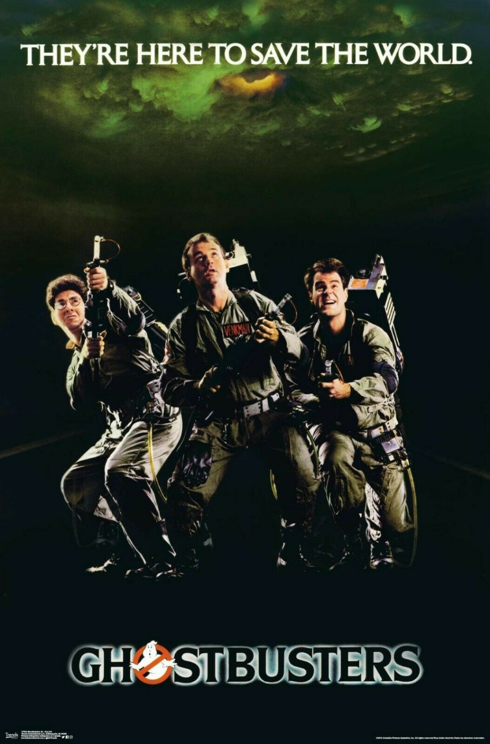 GHOSTBUSTERS 22x34-17849 CLASSIC MOVIE POSTER