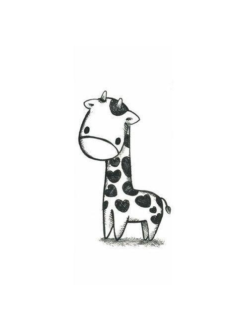 ♥ giraffe tatto