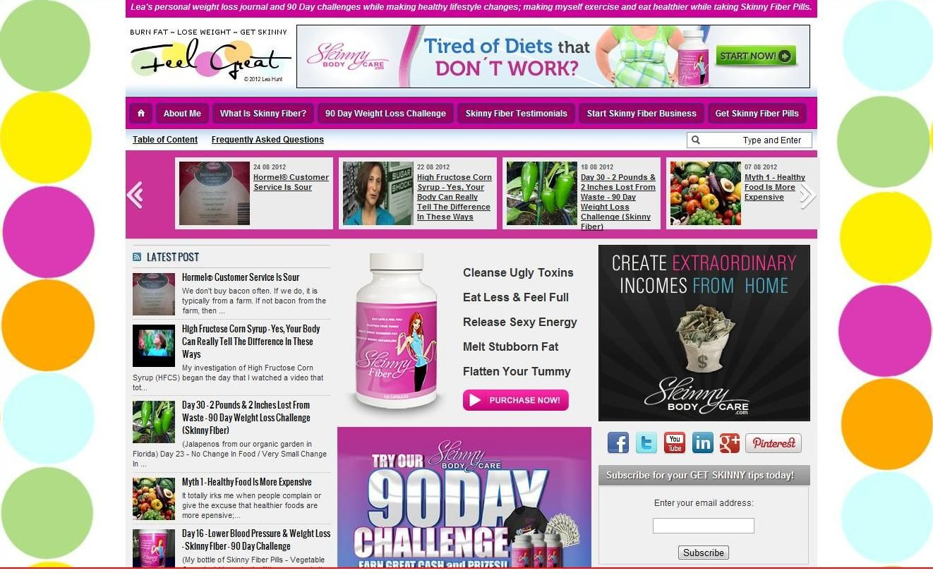 With obesity at an all time high and jobs at an all time low, our company provides weekly and monthly pay that comes to you 8 different ways; selling all natural weight loss and skin health products that people buy whether they are in the business or not. This blog shares my business development and weight loss journal.