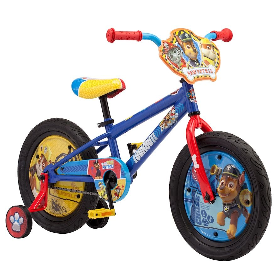 95551b6de1a Kids Paw Patrol 16-inch Bike in 2019 | Products | Kids bike ...
