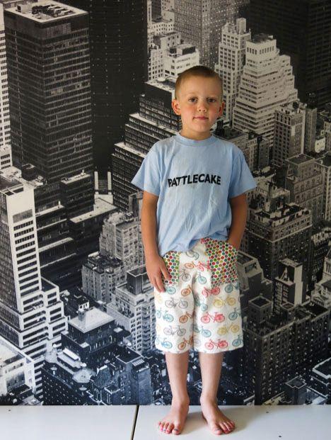 Super Easy Shorts | Buben, für Kinder und Nähen