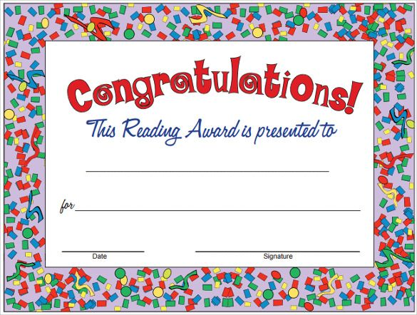 9+ Congratulation Certificate Templates Free Printable Word  PDF