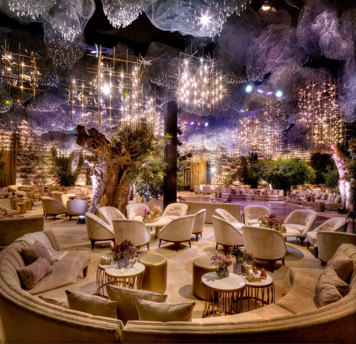 Latest wedding stage decoration  The Gathering  DesignLab Experience  Stage decorations  Pinterest