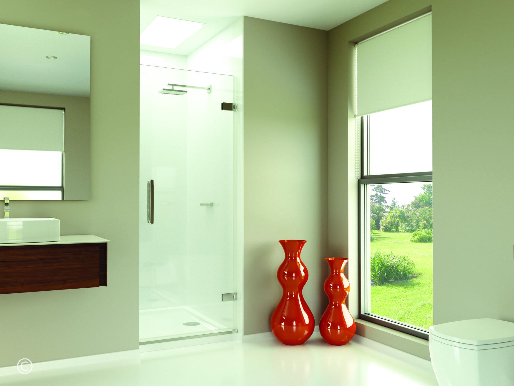 Arysto Wall Hinge Door in Recess | Bath screens, Doors and Shower ...