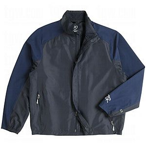 Zero Restriction Mens Motion-Tuned Mix Wind Jackets Navy Small $119.95