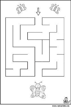 labyrinth bild f r kinder kinder diy labyrinth kindergartenkind und arbeitsbl tter kindergarten. Black Bedroom Furniture Sets. Home Design Ideas