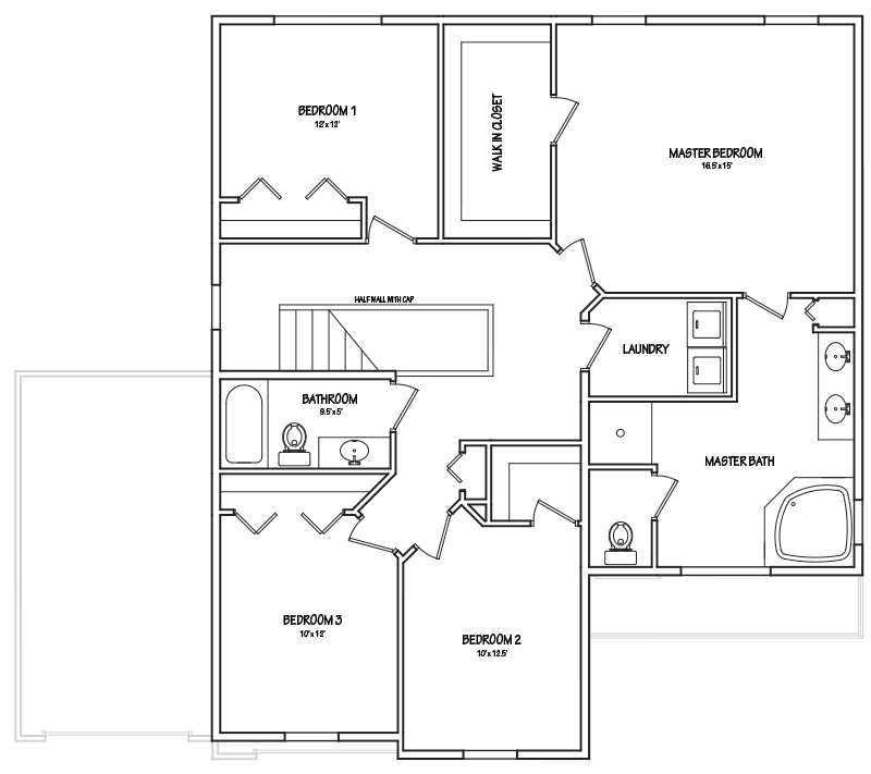 Haven 2nd Floor Small house floor plans, Tiny house