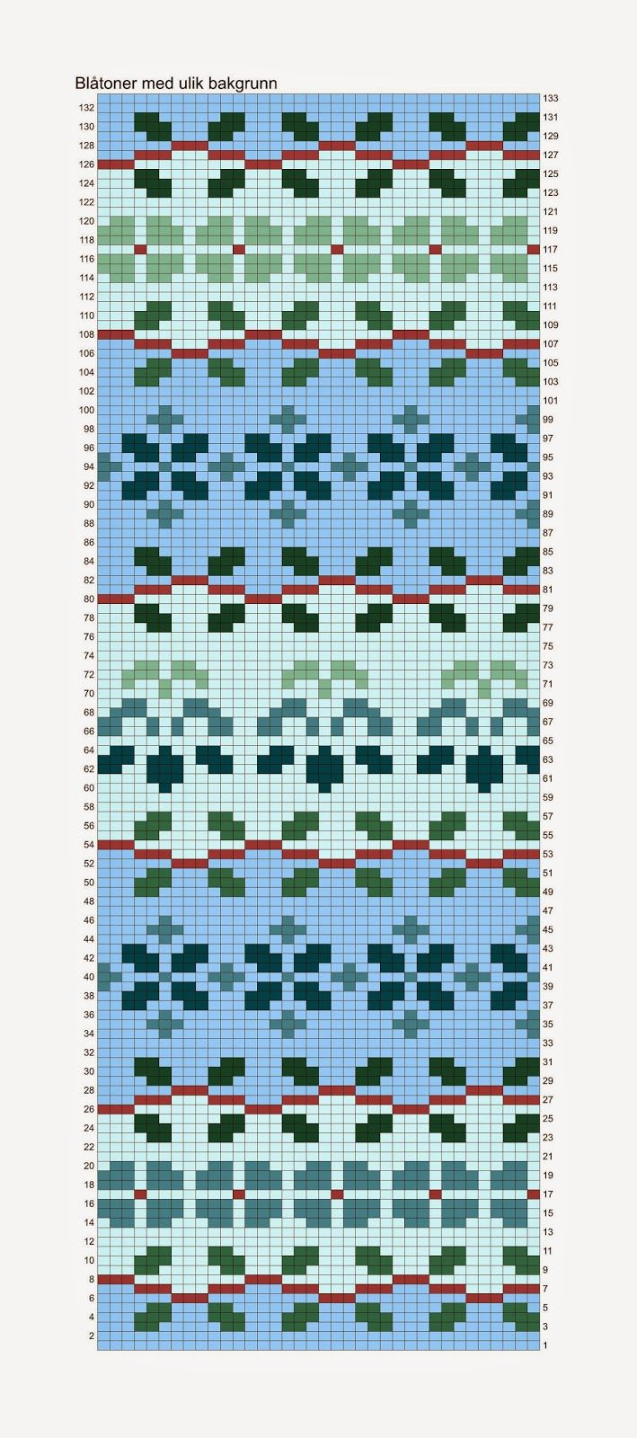 Hønsestrikk - chickenknitting: juni 2014 | cross stitch squares ...
