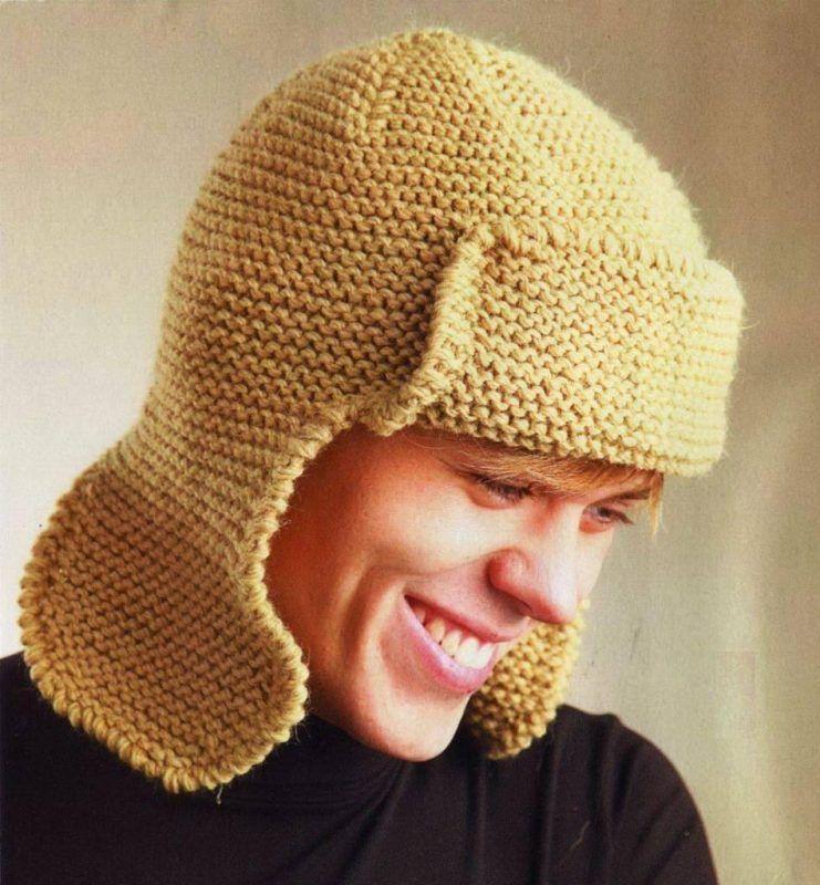 мастер класс по вязанию шапки спицами