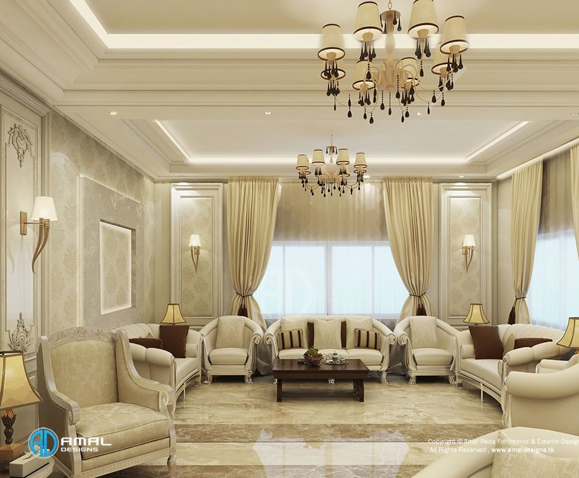 Neo Classical Reception In Ryaid Interiors In 2019