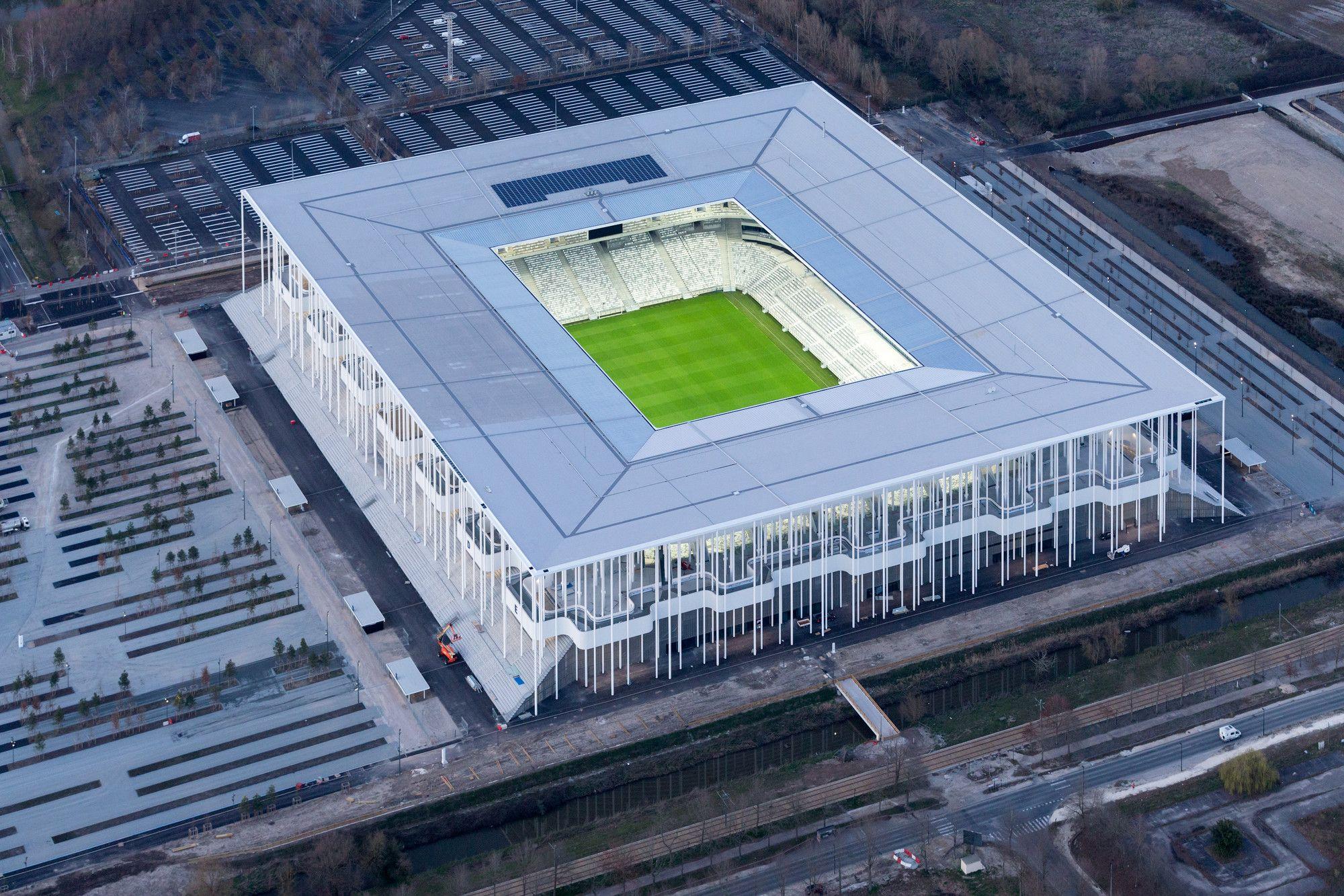 Gallery Of Matmut Atlantique Stadium Herzog De Meuron