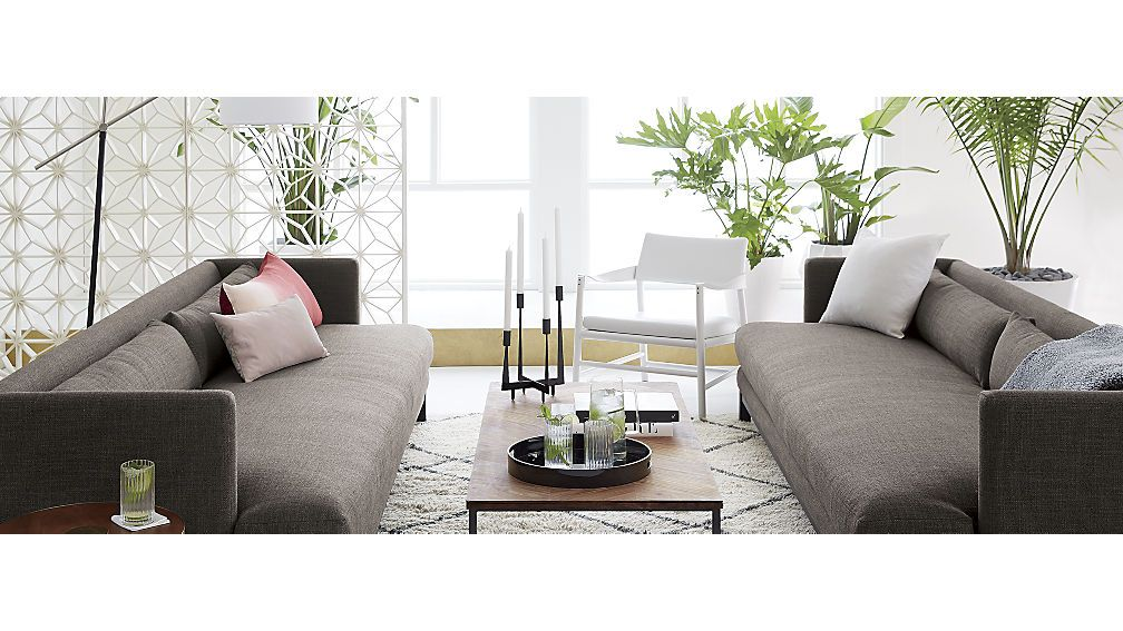 Pleasant Brava Sofa Cb2 Long Sofa Chevron Coffee Tables Living Pdpeps Interior Chair Design Pdpepsorg