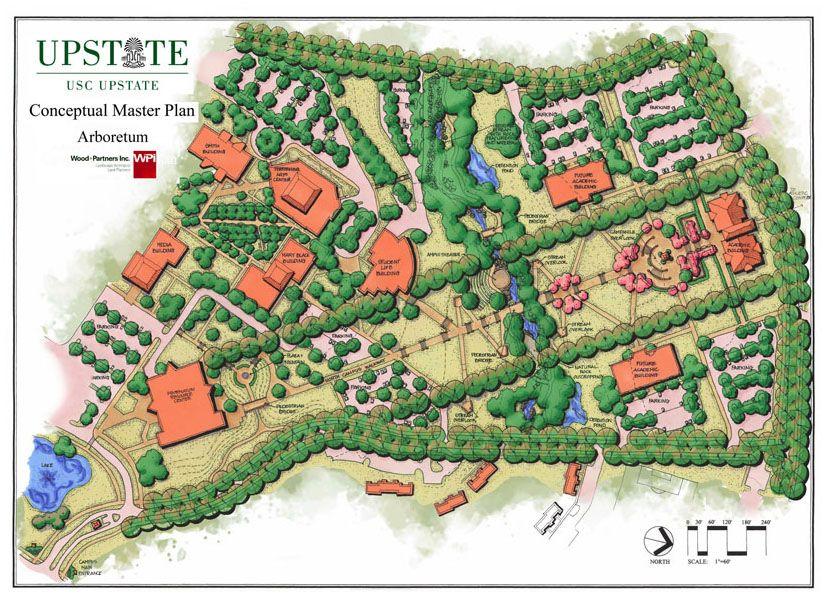University Of South Carolina Upstate Arboretum Mp Parking Design