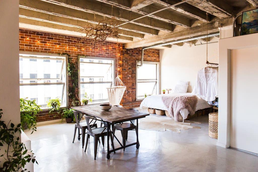 Gorgeous Dtla Loft Perfect Photoshoot Location Lofts For Rent In Los Angeles California United States Loft Interiors Loft Living Home