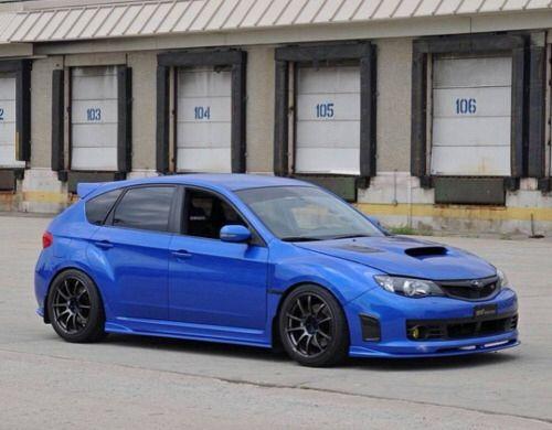 Subaru Wrx Sti Hatchback Oh Doctor  F F  D