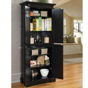 Tall Kitchen Cupboard With Shelves