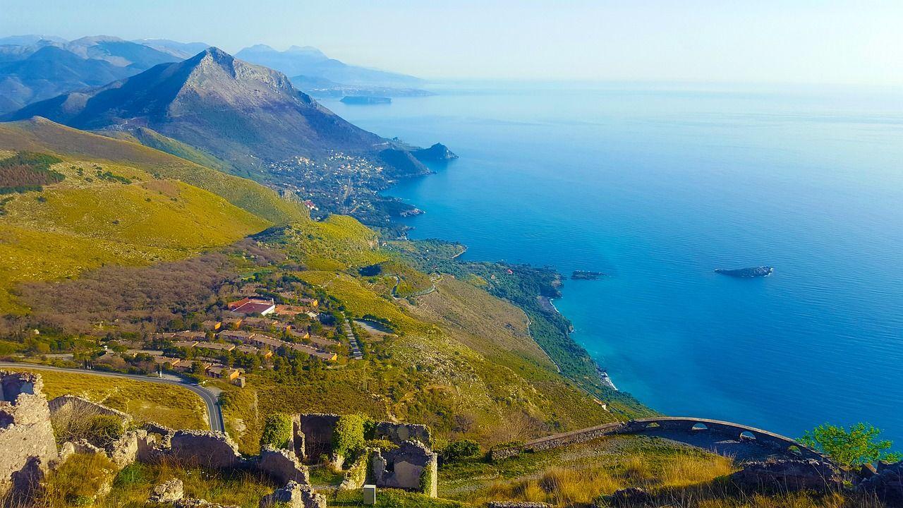 Italy, Maratea, Basilicata, Sea, Landscape #italy, # ...