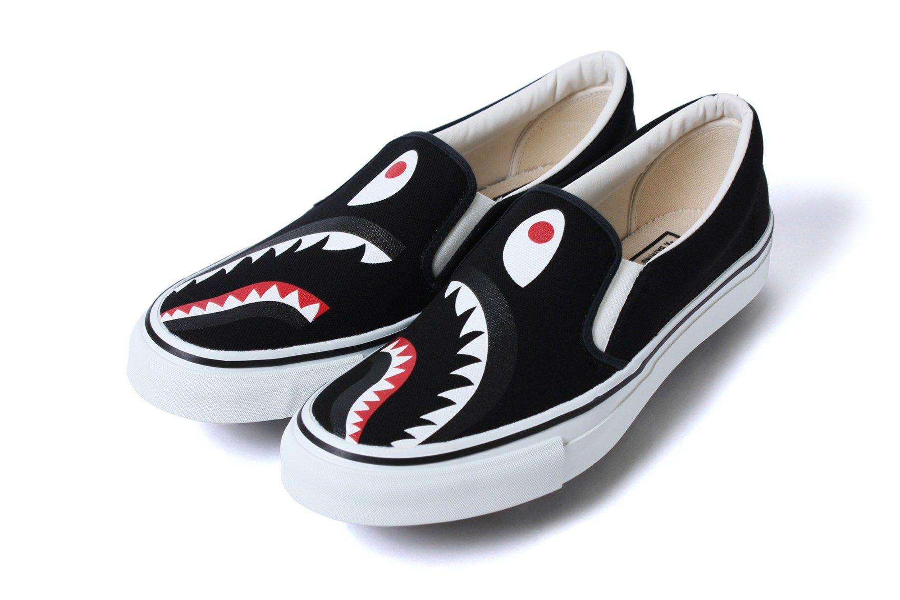 A Bathing Ape 全新「鯊魚」鞋履系列