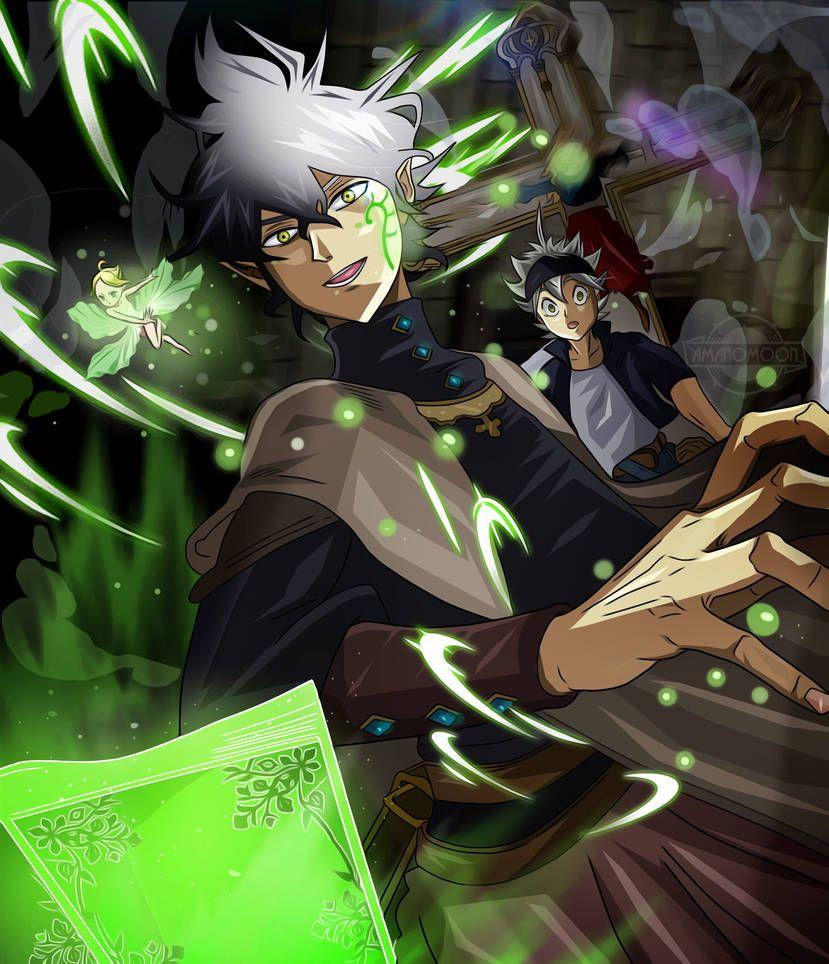 Pin de Hailey B em Black clover Anime, Imagem de anime e