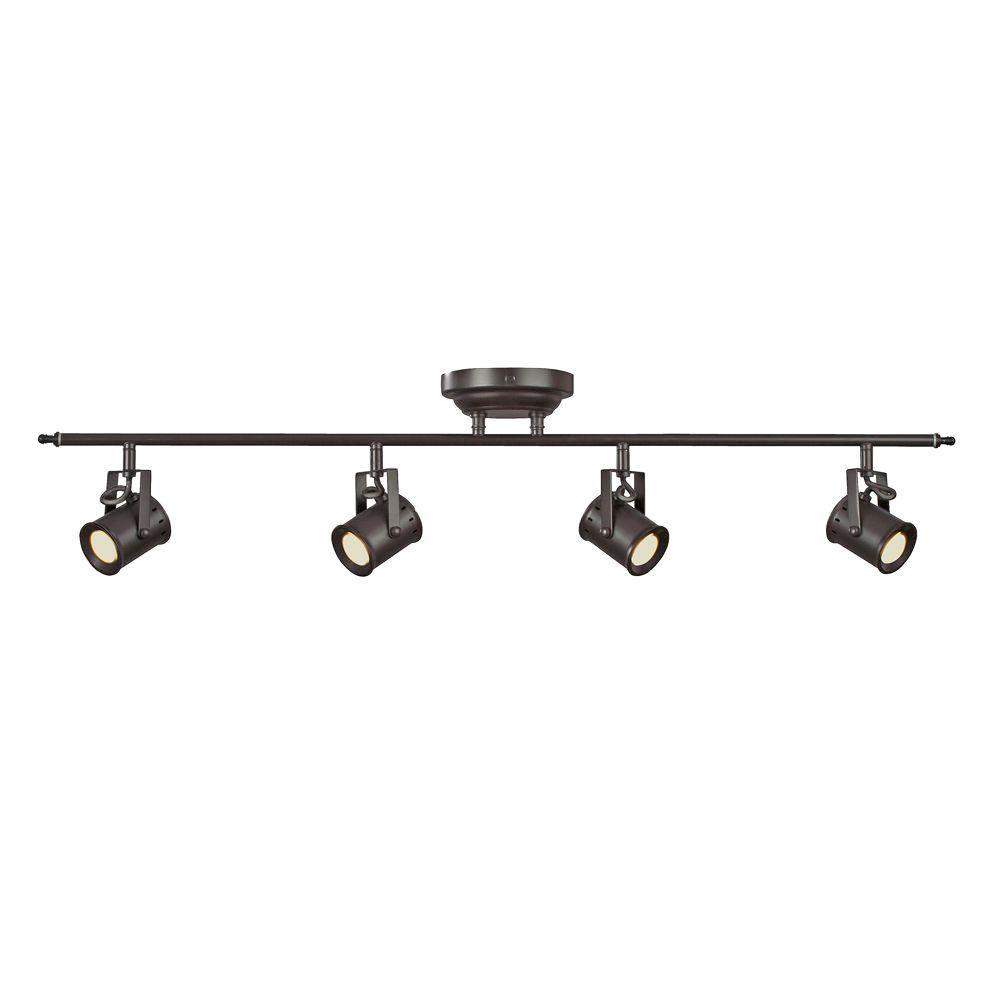 Aspects Studio 4-Light Oiled Rubbed Bronze Dimmable Fixed Track ...