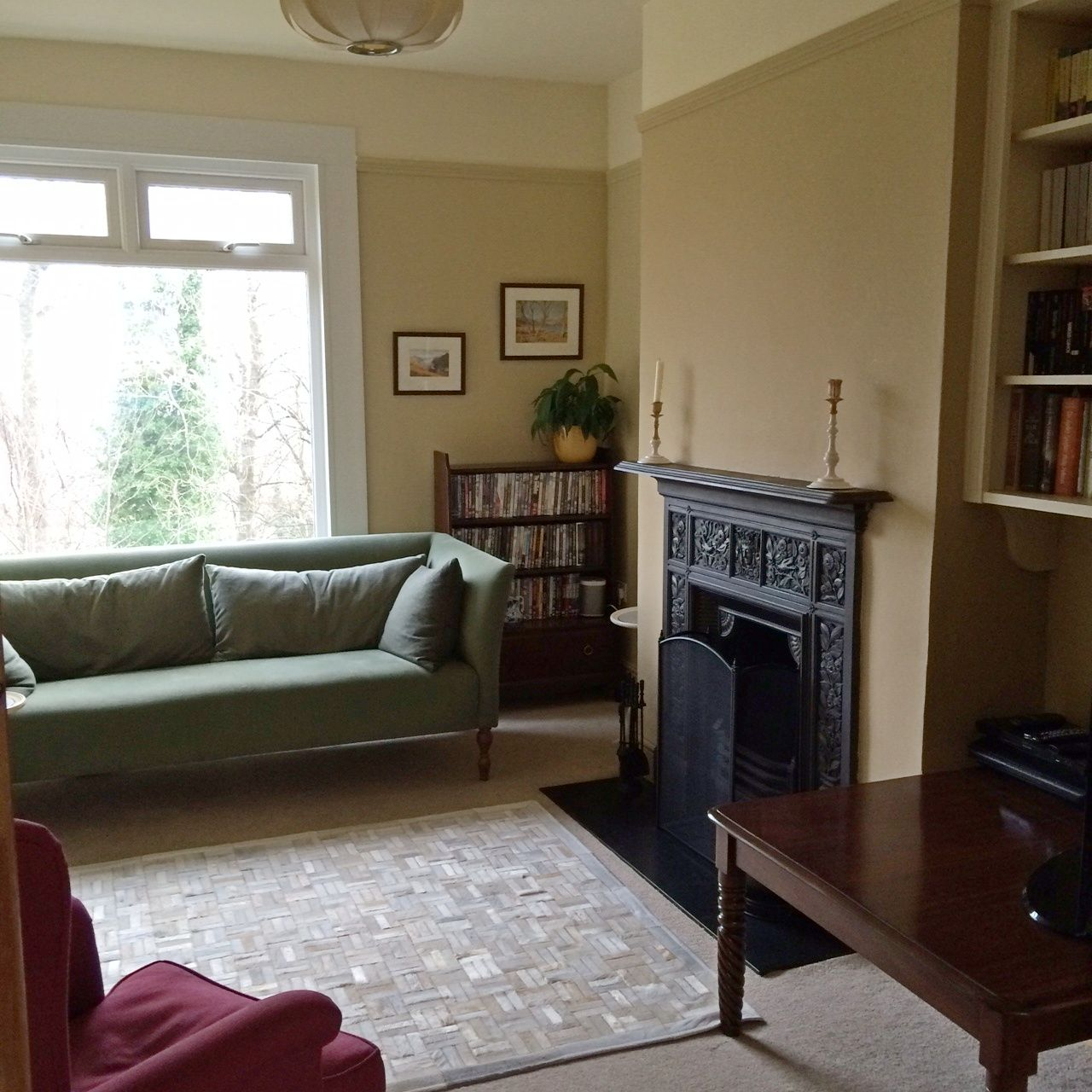 Picture Rail Painting Ideas: 1) Walls & Picture Rail: Farrow & Ball No. 16 Cord Estate