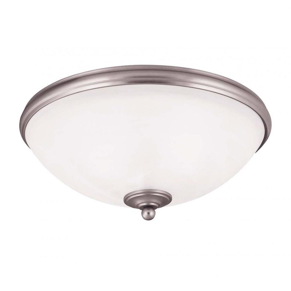 Light Pewter Flush Mount