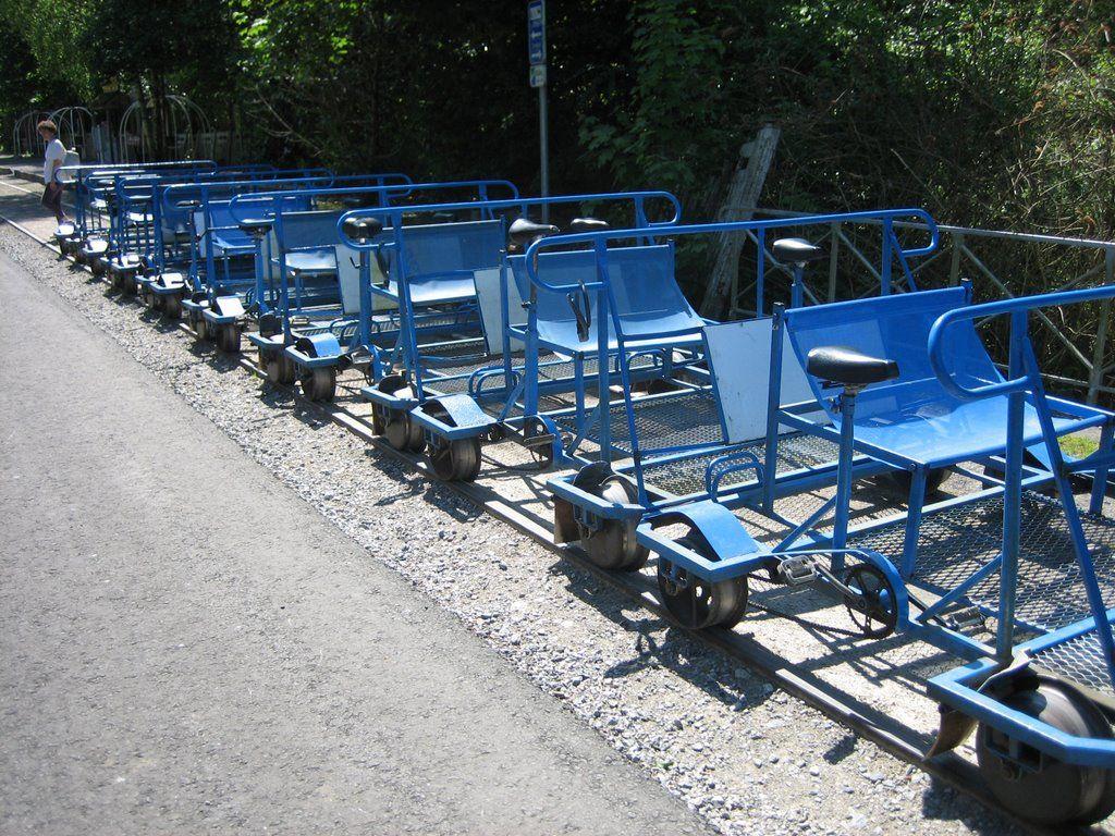 Rail bikes @ Falaën, Namur province, Belgium
