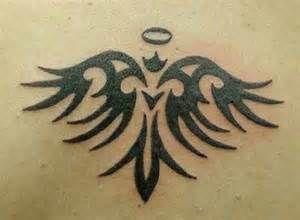 Tattoo Angel Tribal Tribal Angel Tattoo Design Tribal Angel Tattoos Tattoo 1 Angel Tattoo Angel Wings Tattoo Tattoos